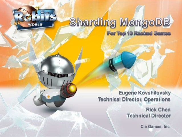 Eugene KovshilovskyTechnical Director, OperationsRick ChenTechnical DirectorCie Games, Inc.