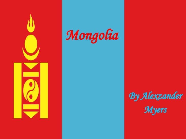 Mongolia By Alexzander Myers