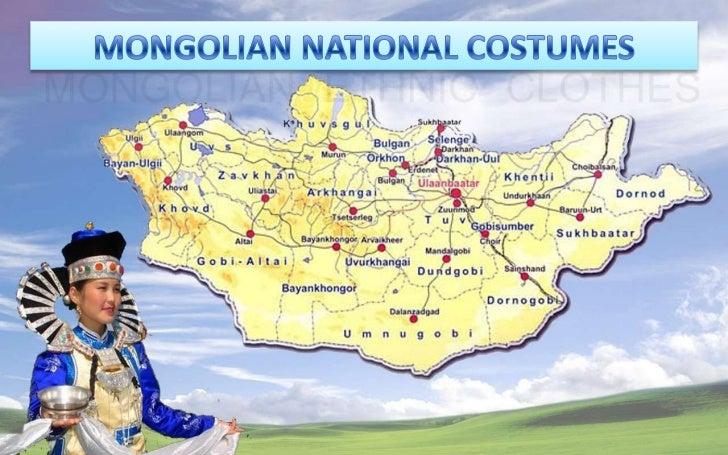 Mongolian national costumes