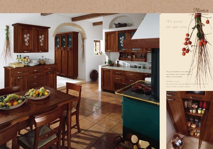 Cucina in arte povera monica di maior cucine for Cucine arte povera