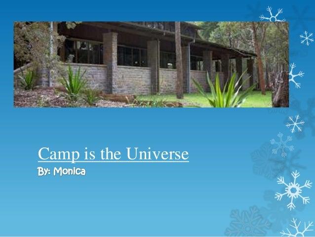 Monica camp poem