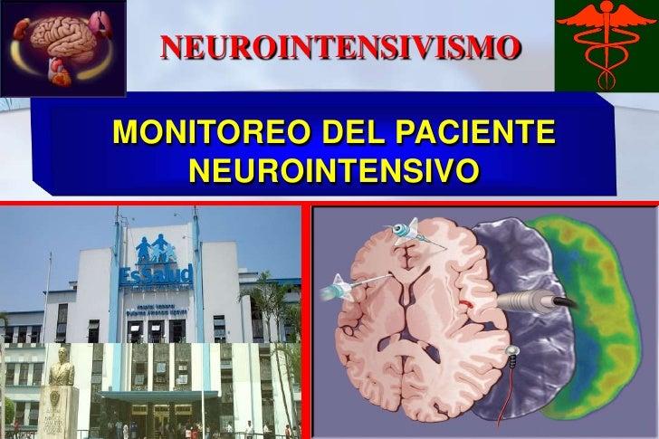 Monitoreo paciente neurointensivo