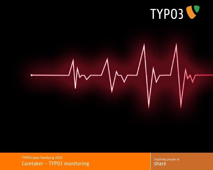 Caretaker - TYPO3 monitoring