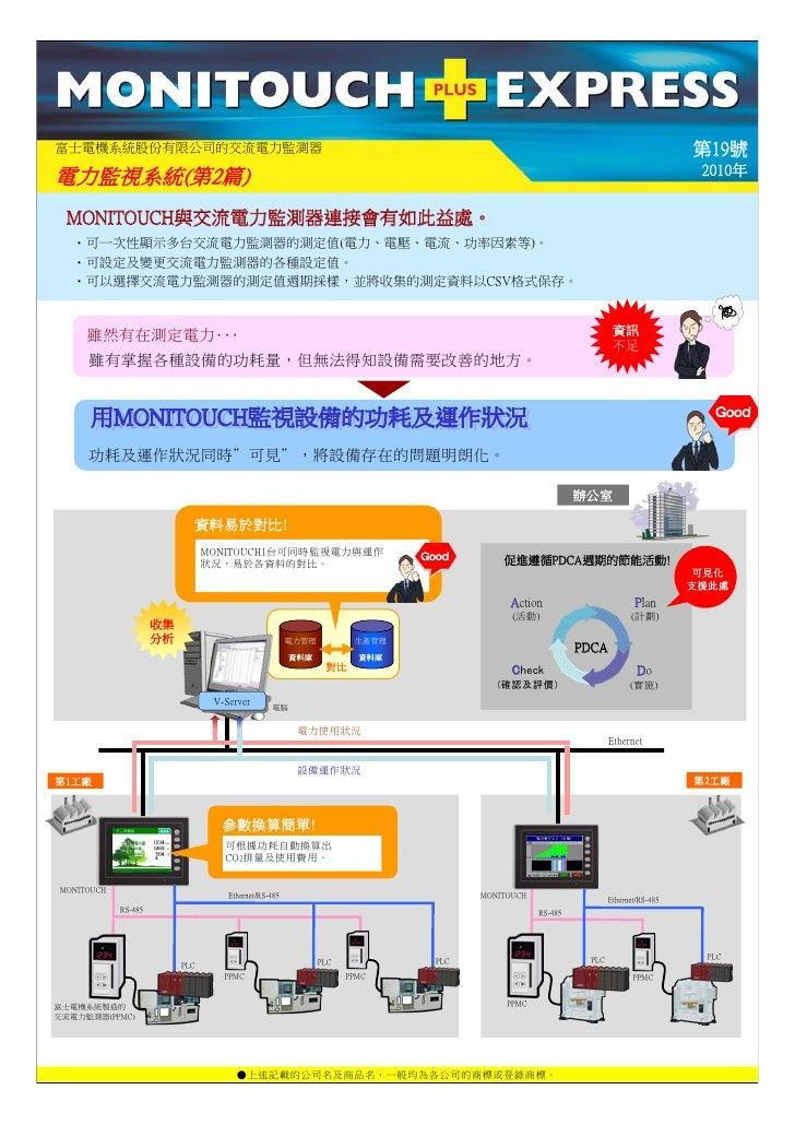 富士電機系統股份有限公司的交流電力監測器                                                                                                      ...