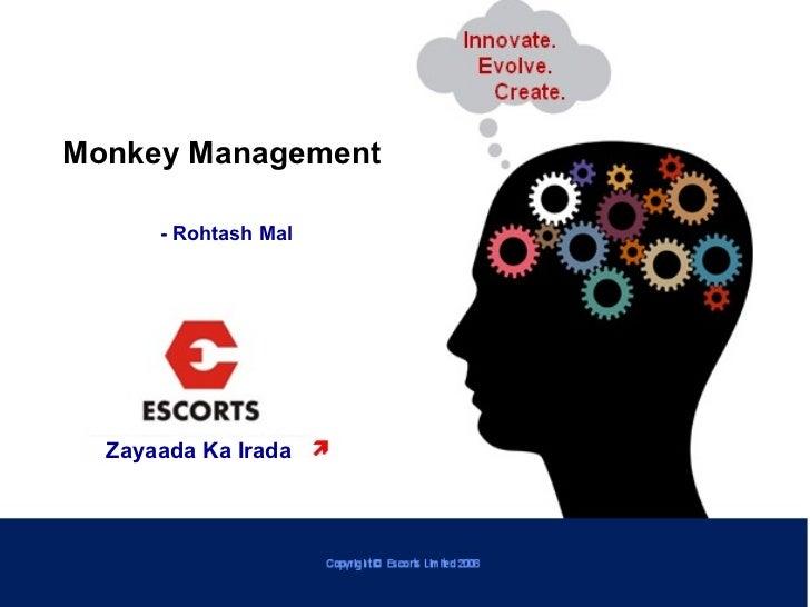 Zayaada Ka Irada Monkey Management   - Rohtash Mal