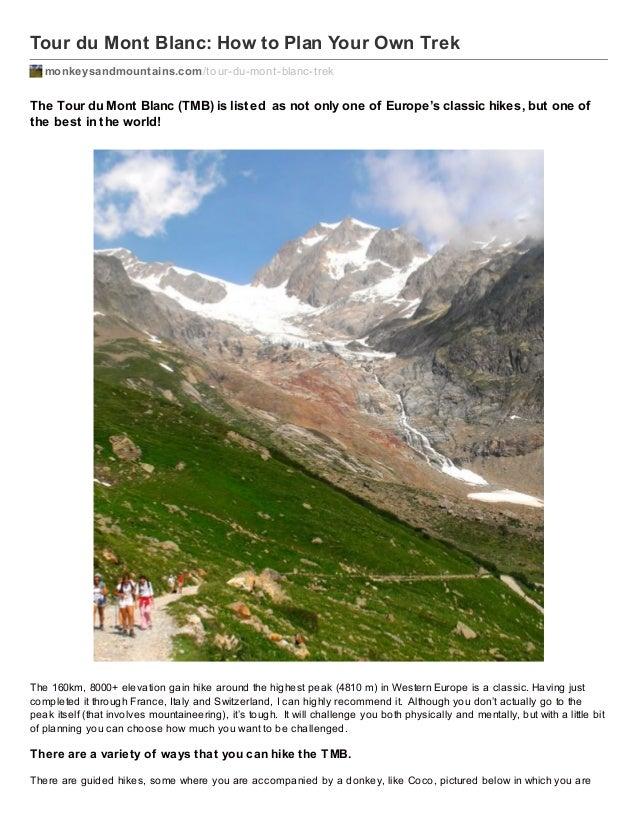 Tour du Mont Blanc: How to Plan Your Own Trek