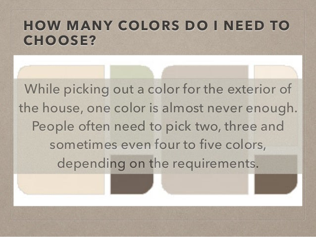 How To Pick An Exterior Paint Color How To Choose The