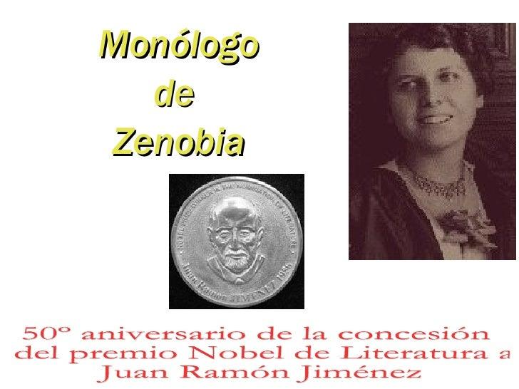 Monólogo de Zenobia