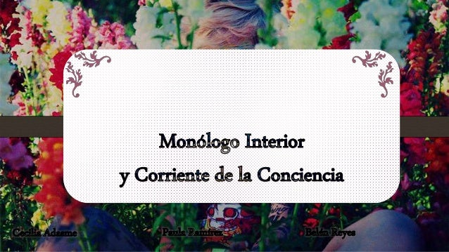 Mon logo interior y corriente de la conciencia for Interior sinonimos