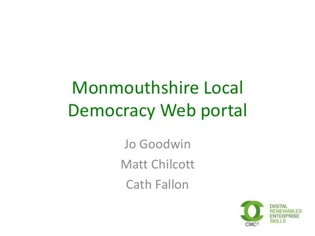 Monmouthshire community councils consultation event 250413