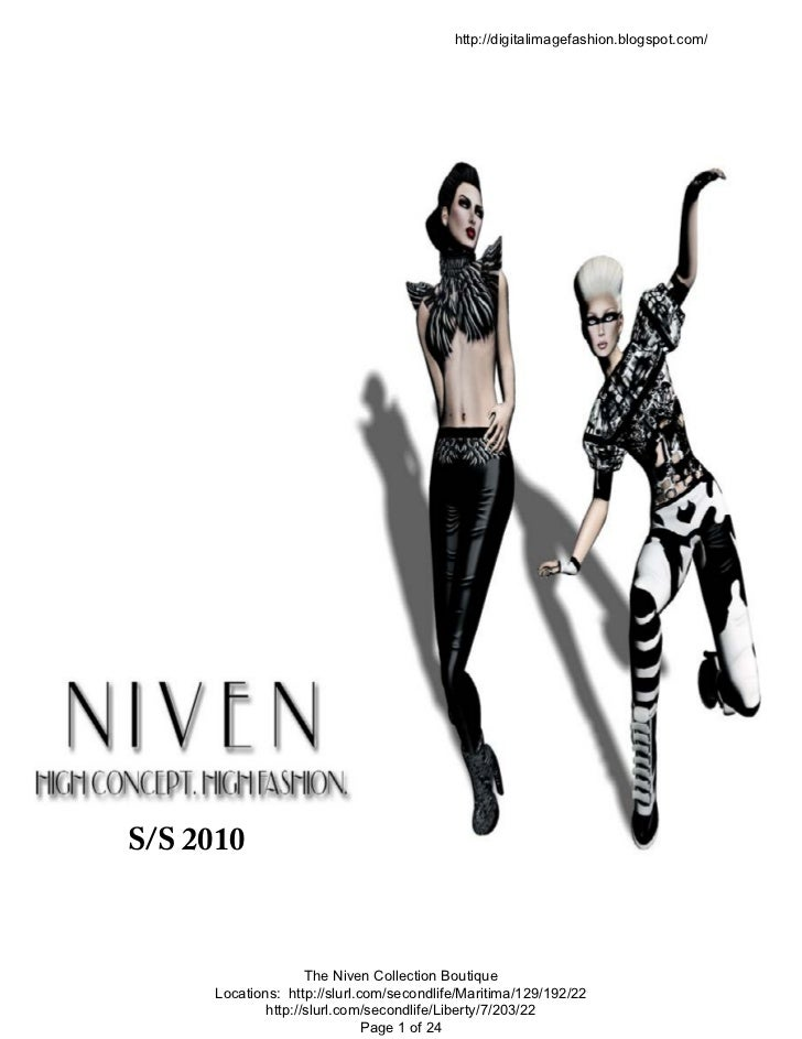 http://digitalimagefashion.blogspot.com/S/S 2010                    The Niven Collection Boutique     Locations: http://sl...