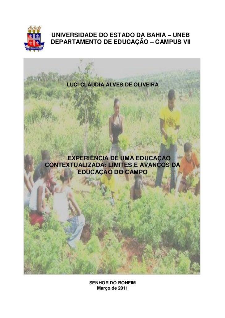 Monografia Luci pedagogia 2011