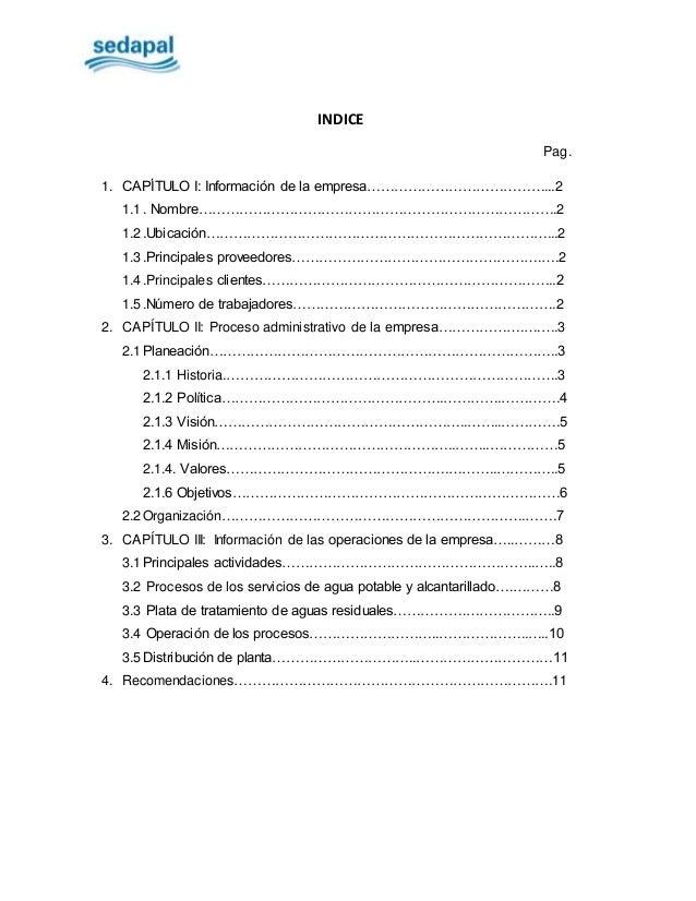 INDICE Pag. 1. CAPÍTULO I: Información de la empresa…………………………………...2 1.1. Nombre…………………………………………………………………….2 1.2.Ubicació...