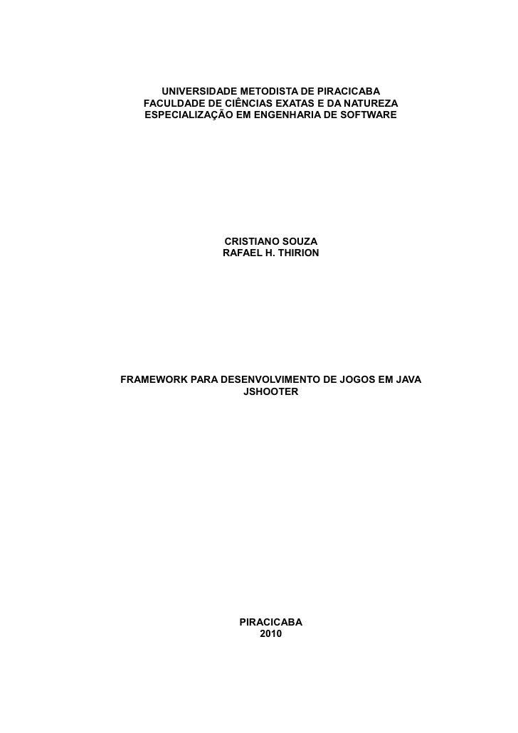 Monografia   j shooter - v.1.0 [souza, cristiano; thirion, rafael]