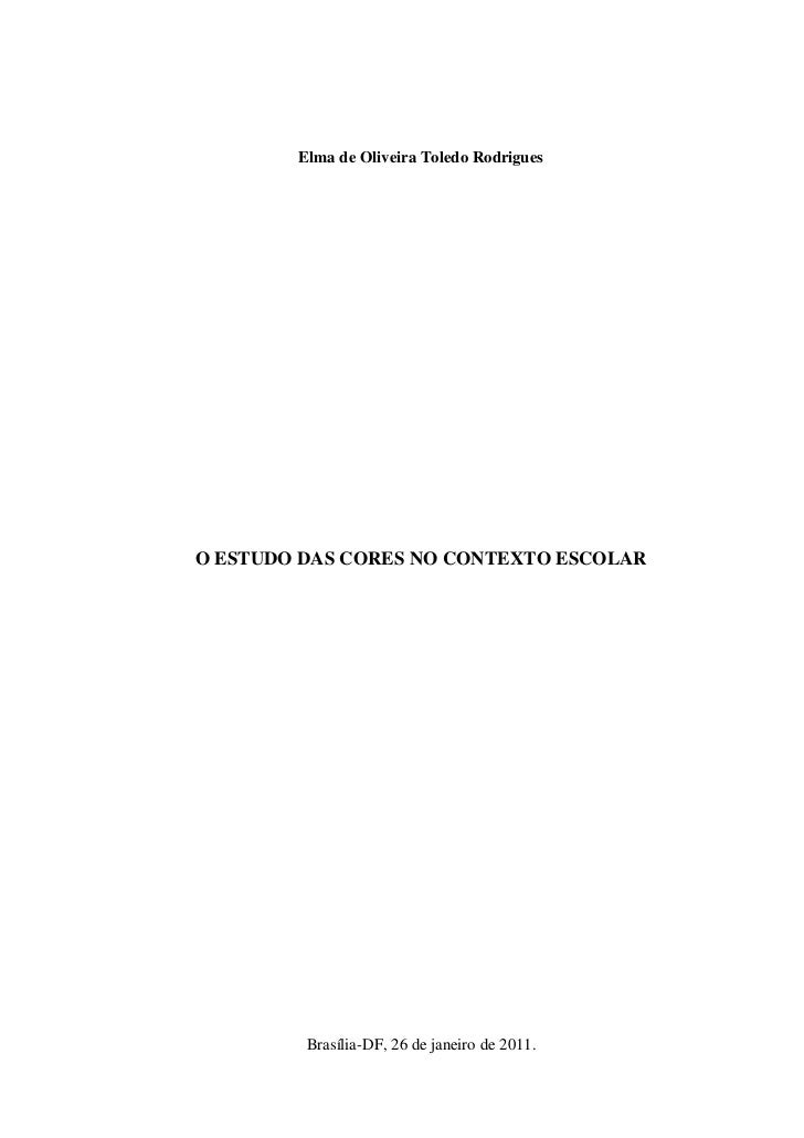Monografia   licenciatura em artes