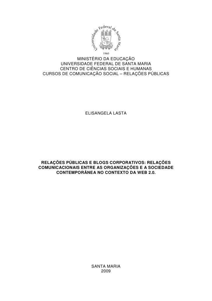 MINISTÉRIO DA EDUCAÇÃO        UNIVERSIDADE FEDERAL DE SANTA MARIA        CENTRO DE CIÊNCIAS SOCIAIS E HUMANAS  CURSOS DE C...