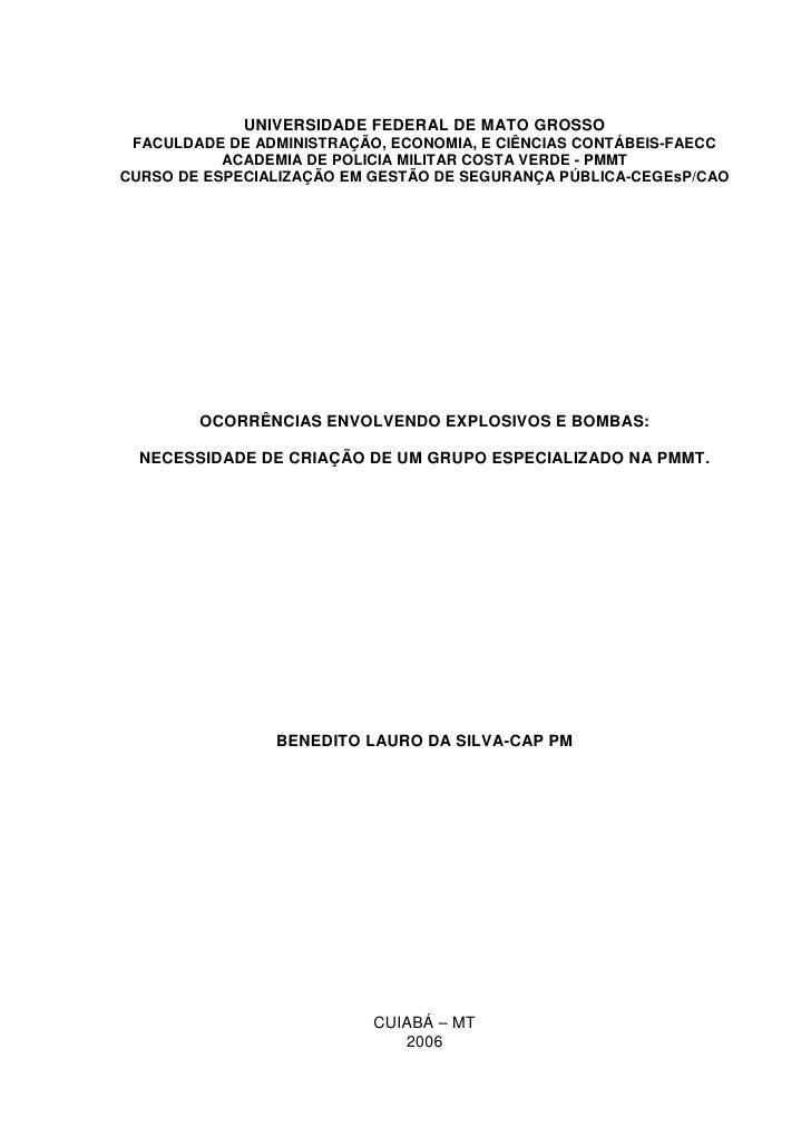 UNIVERSIDADE FEDERAL DE MATO GROSSO FACULDADE DE ADMINISTRAÇÃO, ECONOMIA, E CIÊNCIAS CONTÁBEIS-FAECC           ACADEMIA DE...