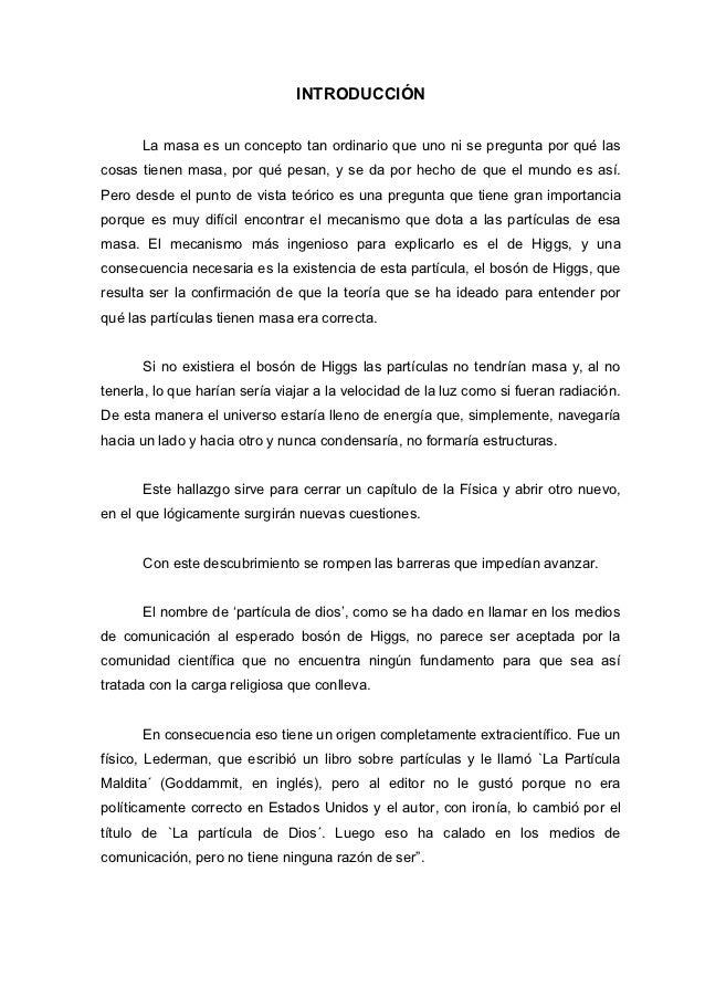 Monografia boson de higgs