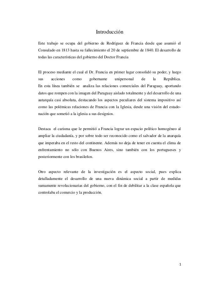 Monografia del dr. francia