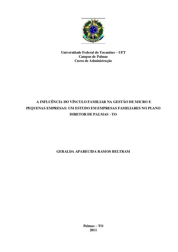 Monografia final - EMPRESAS FAMILIARES