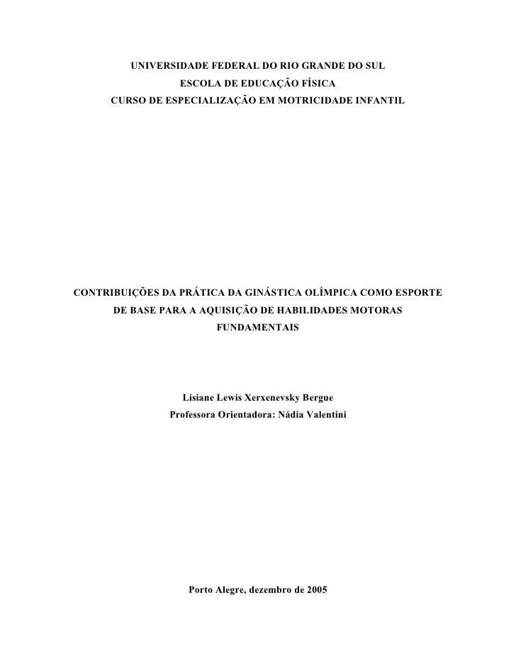Monografia Final Lisiane