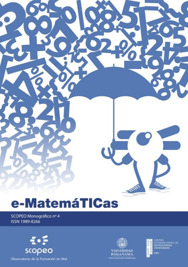 "SCOPEO MONOGRÁFICO Nº4:e-MatemáTICas                                                            ""SCOPEO MONOGRÁFICO Nº4:  ..."