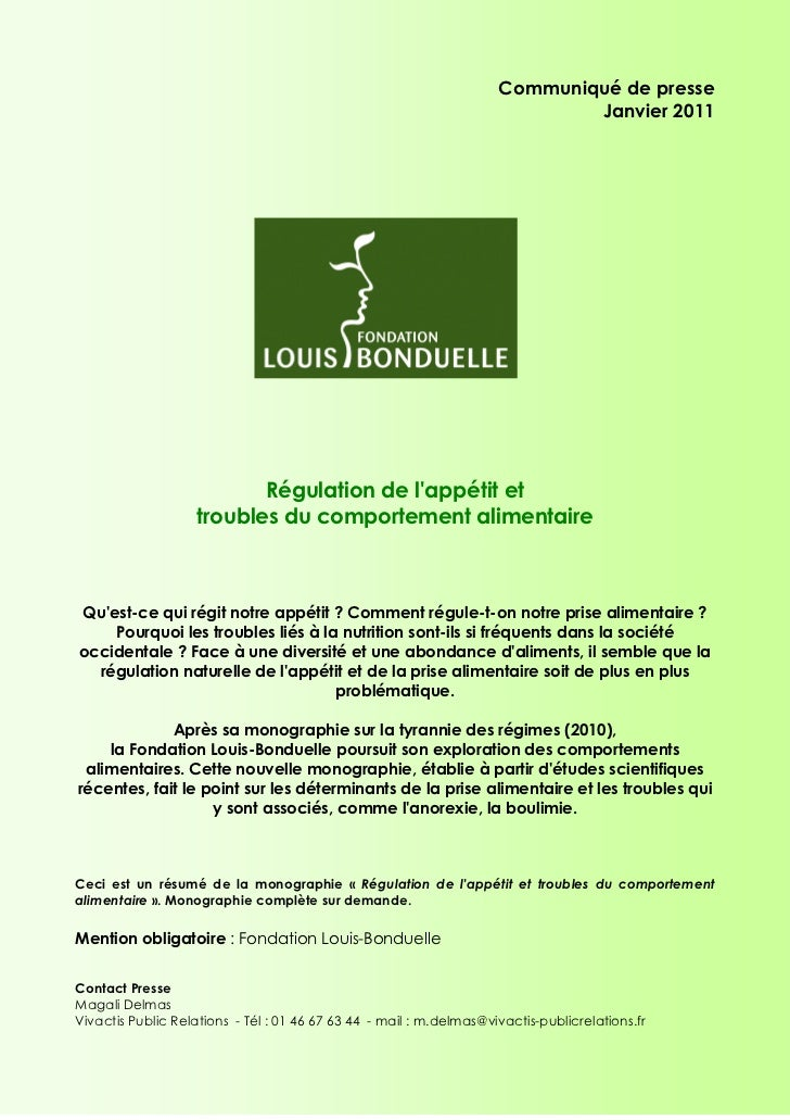 Monographie regulation-appetit-satiete