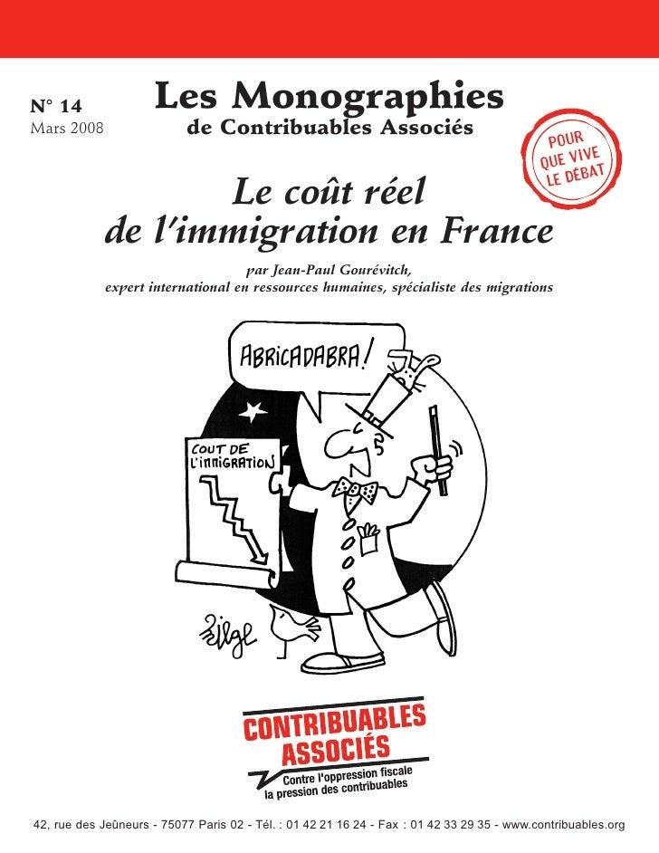 N° 14                 Les Monographies Mars 2008                  de Contribuables Associés                               ...