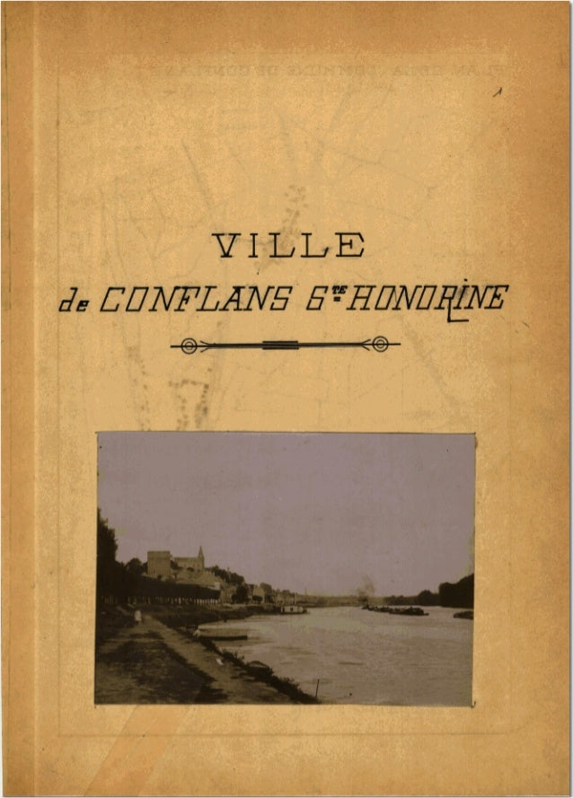 Monographie conflans