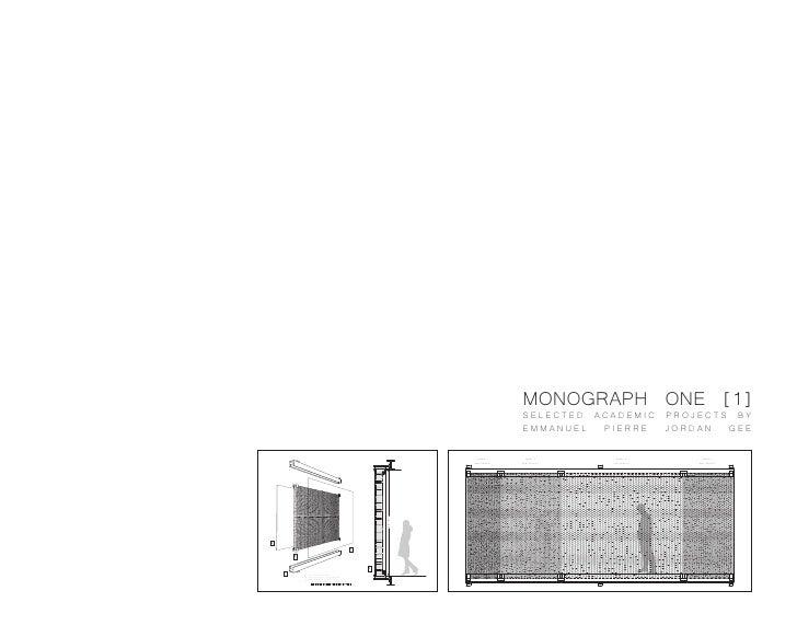 MONOGRAPH ONE [1]                                                                                                  SELECTE...