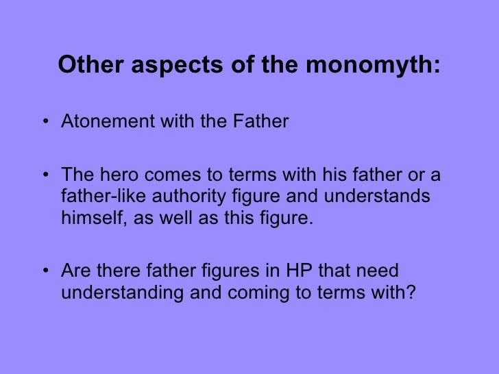 Are these examples of monomyths?