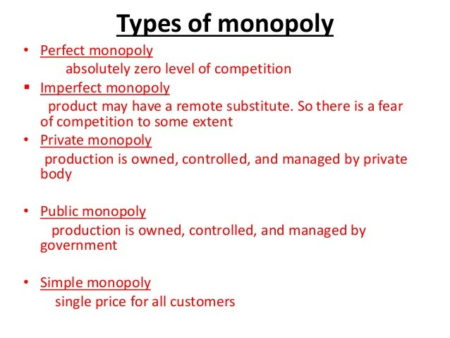 What Type Of Market Structure Is The Property Market