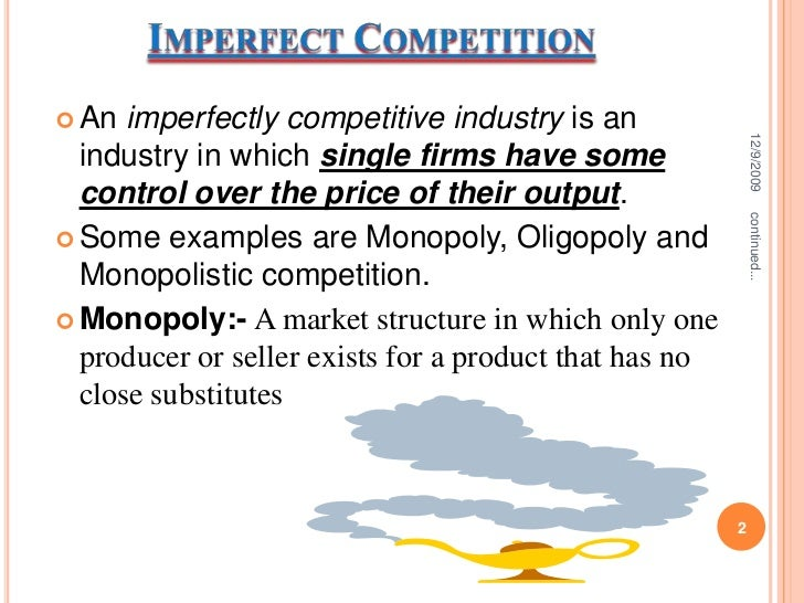 example of oligopoly in south africa I introduction: four product market models a competitive market (ch 9) b monopoly (ch 10) c monopolistic competition (ch 11) d oligopoly (ch 11.