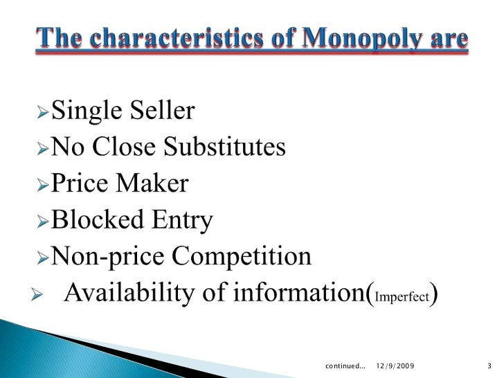 oligopoly monopoly and firms