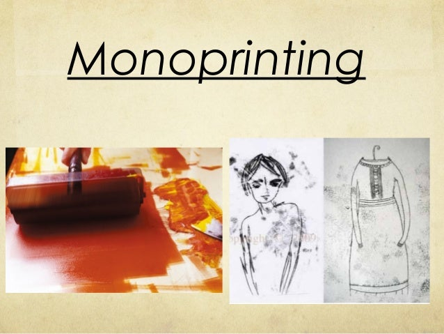 How To Make A Monoprint At Home