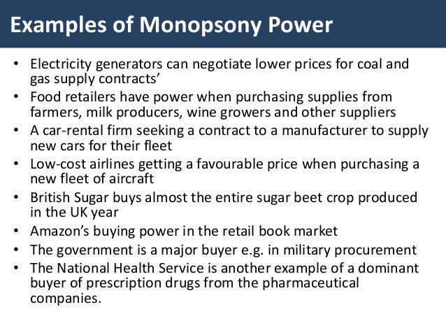 Monopsony Power