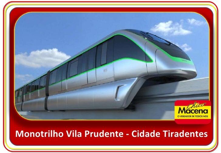Monotrilho Vila Prudente - Cidade Tiradentes