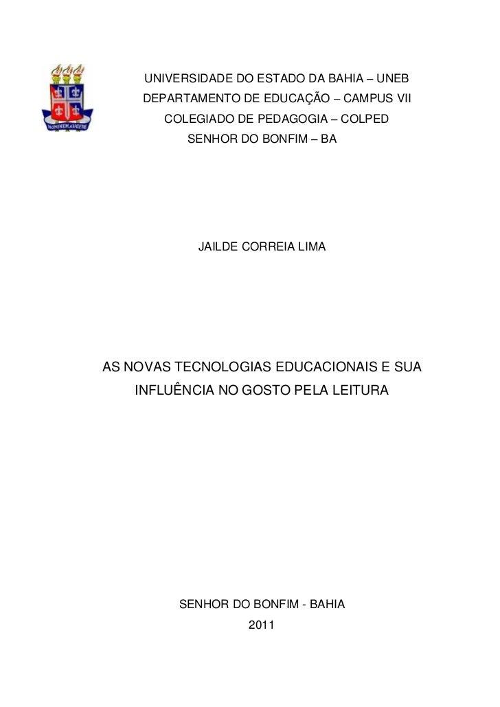 Monrafia Jailde Pedagogia 2011