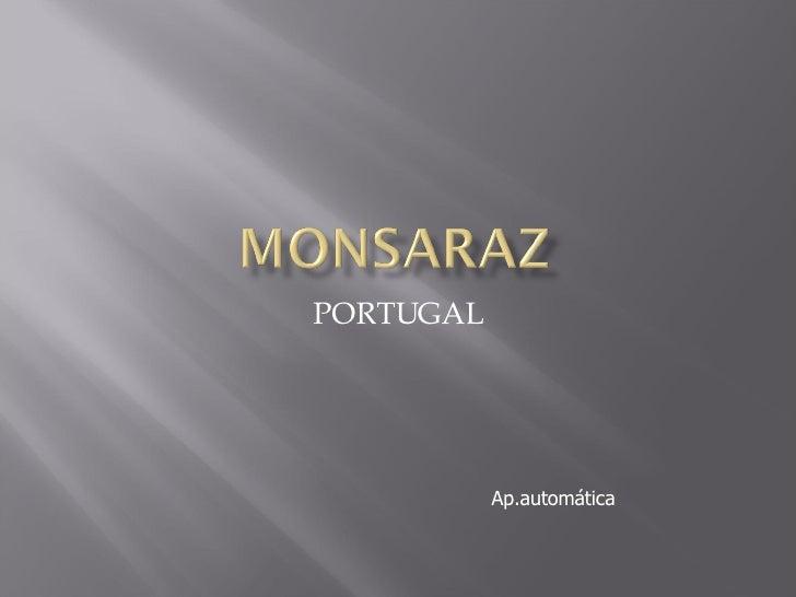 PORTUGAL Ap.automática