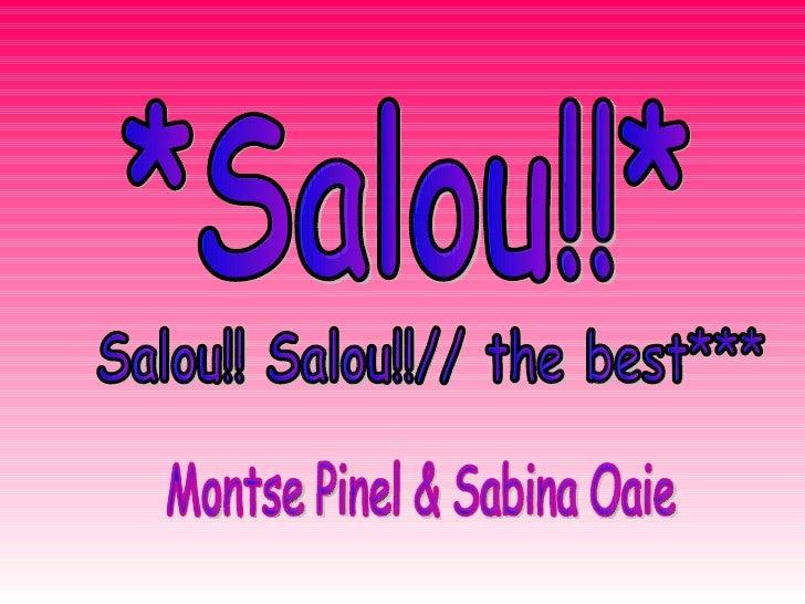 *Salou!!* Salou!! Salou!!// the best*** Montse Pinel & Sabina Oaie