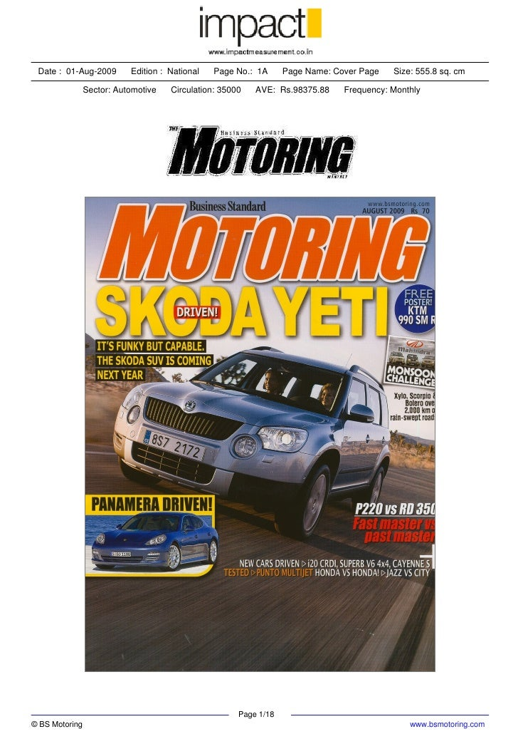Monsoon Drive: Mahindra Monsoon Challenge- Business Standard Motoring August 2009