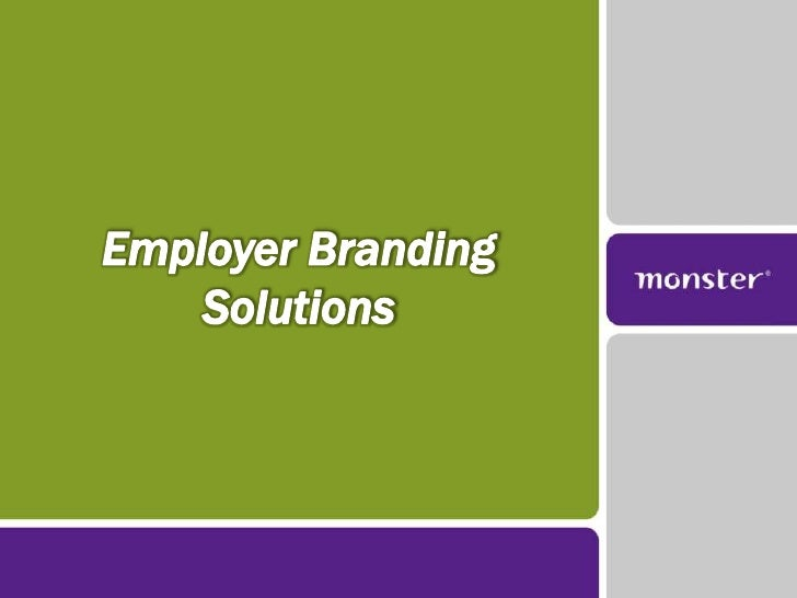 Employer Branding Solutions<br />