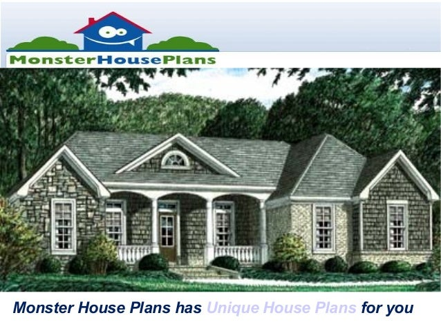 Monster House Plans Has Unique House Plans For You