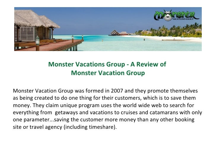 monster vacations group