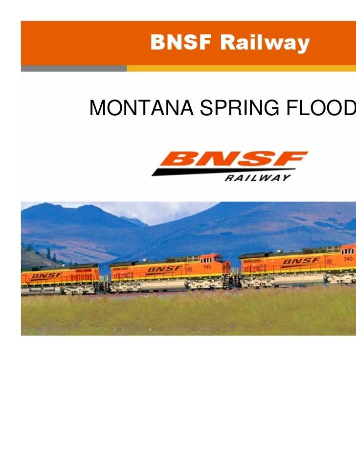 MONTANA SPRING FLOODS