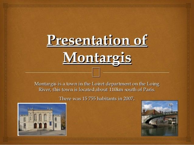 Montargis local economy amandine, amir