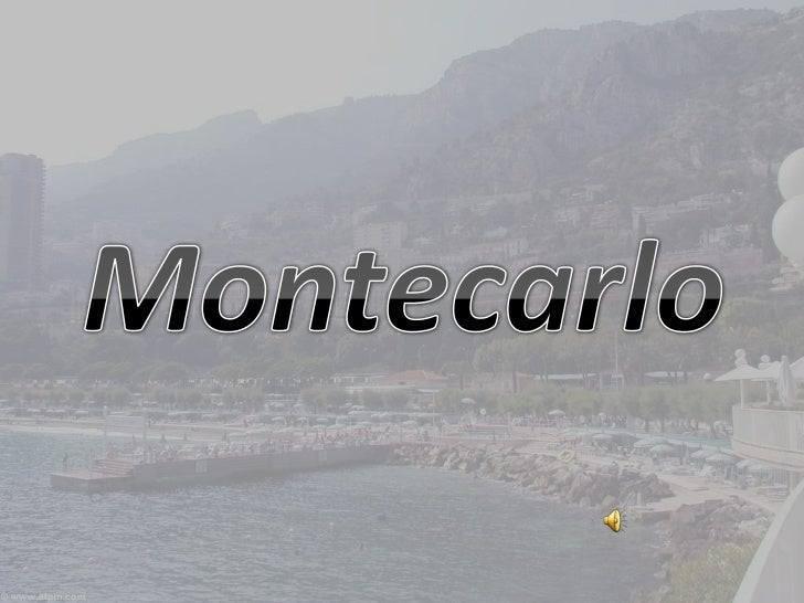 Montecarlo(2) se representa
