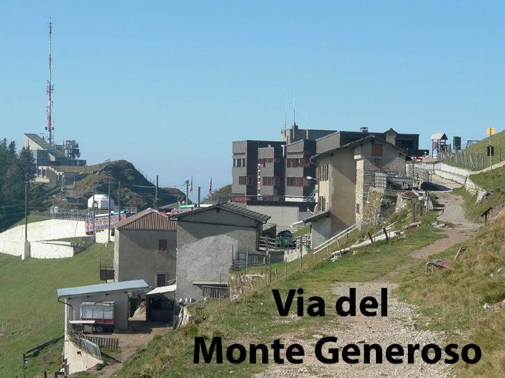 Monte Generoso Diashow