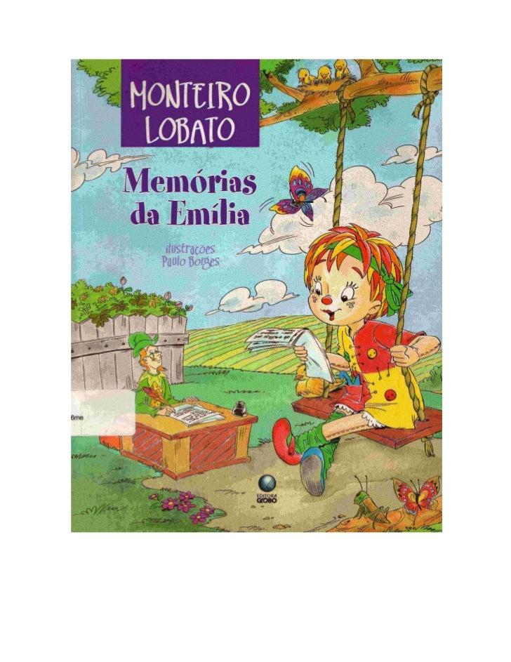 Monteiro lobato - Memórias_da_Emília_-_edição_ilustrada_2007