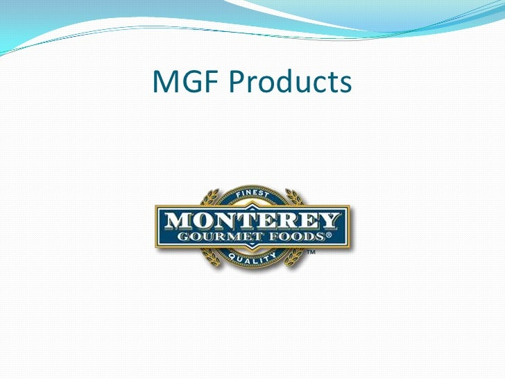 MGF Products<br />